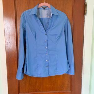 Expresss stretch button down shirt